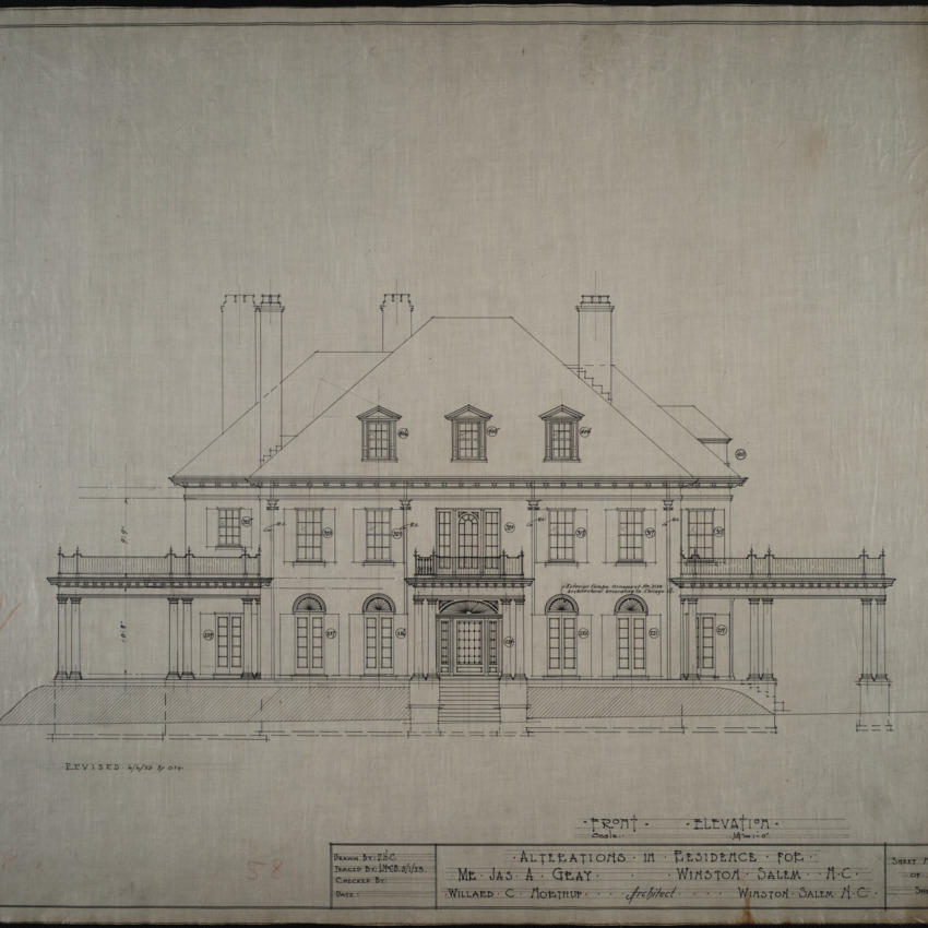 Roof elevation