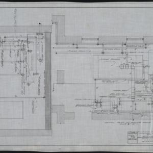 Detail plan of boiler room