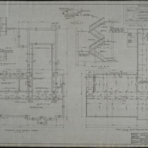 Basement framing plan, first floor framing plan
