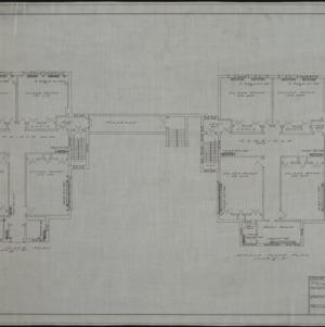 First floor heating plan, second floor heating plan