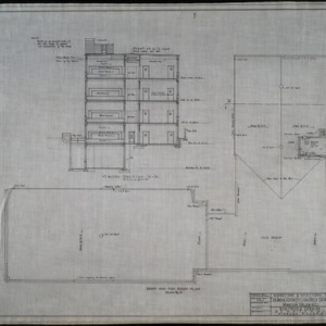 Roof and fan room plan
