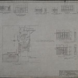 Plot plan, interior details