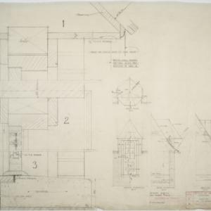 Details of brick dormer