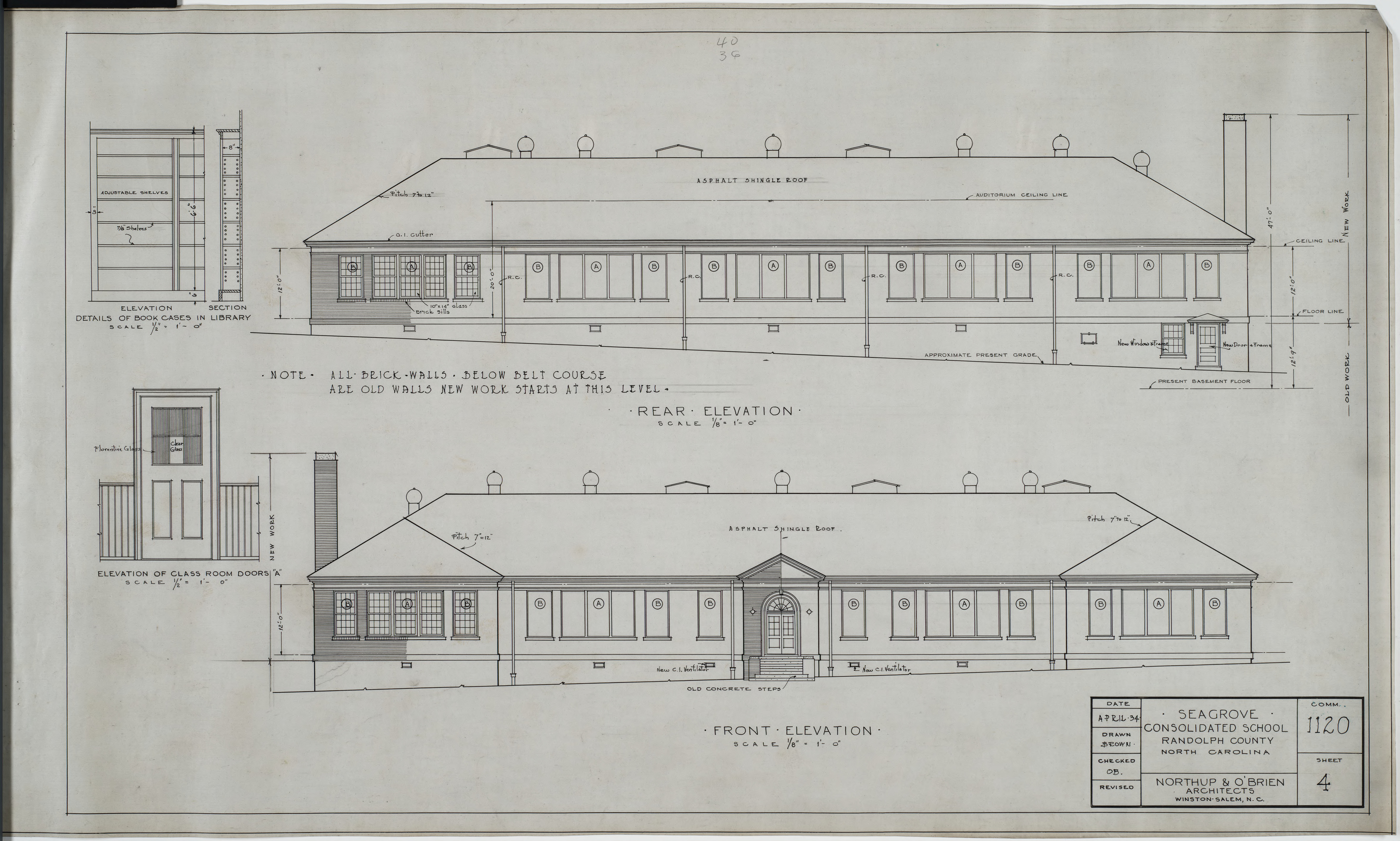 Rear elevation front elevation seagrove consolidated for What is rear elevation