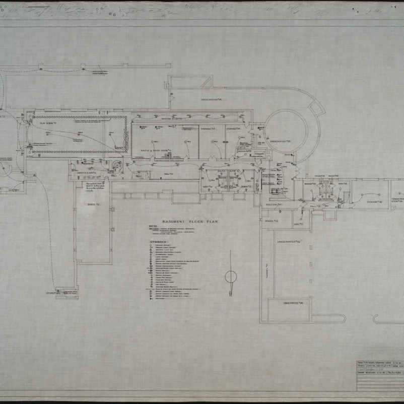 Basement electrical plan