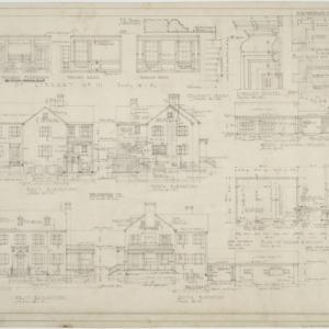 Elevations, garage elevations and floor plan