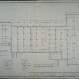 Basement and foundation plans