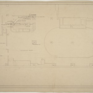 Mezzanine floor plan, S & W Cafeteria