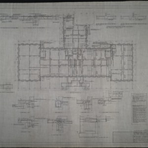 First floor framing plan