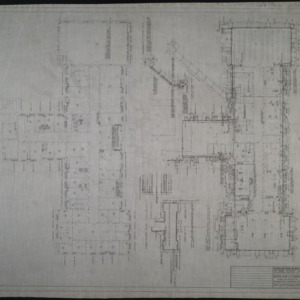Ground floor plumbing plan, first floor plumbing plan