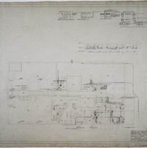 Ground floor plumbing and heating plan