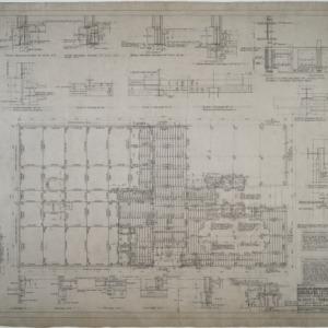 Mezzanine and balcony floor framing plans