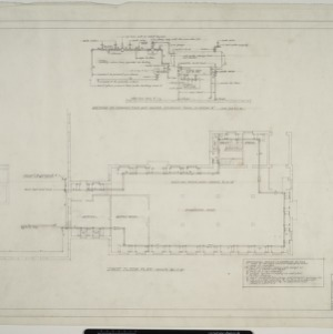 First floor mechanical plan, revised