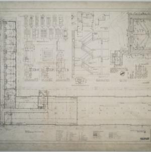 Ground floor plan, Dormitory D