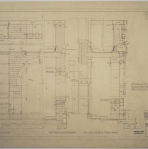 Details of porch, Dormitory E