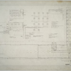 Ground floor electrical plan, Dormitory E