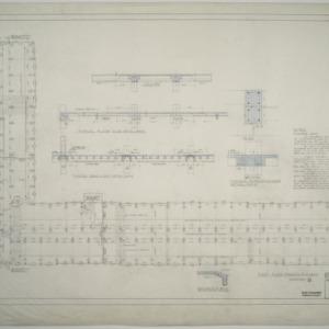 First floor framing plan, Dormitory D