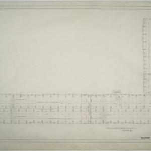First floor framing plan, Dormitory E