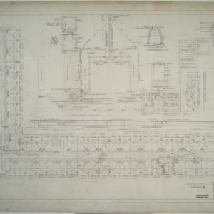 First floor plumbing plan, Dormitory D