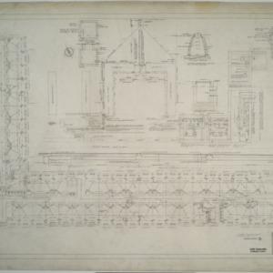 First floor plumbing plan, Dormitory D
