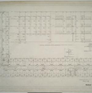 Second floor plumbing plan, Dormitory D