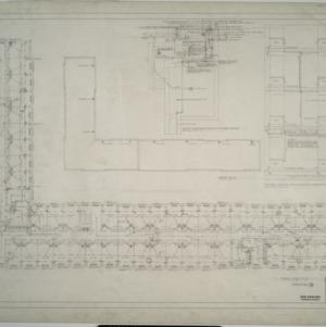 Third floor plumbing plan, Dormitory D