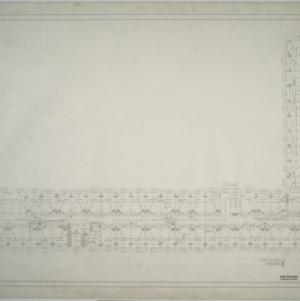 First floor plumbing plan, Dormitory E