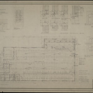 First floor plan and window details