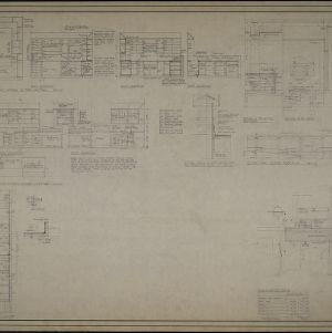 Elevations, details, and site location plan