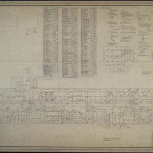Third floor electrical plan, fourth floor electrical plan