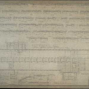 Second floor framing plan
