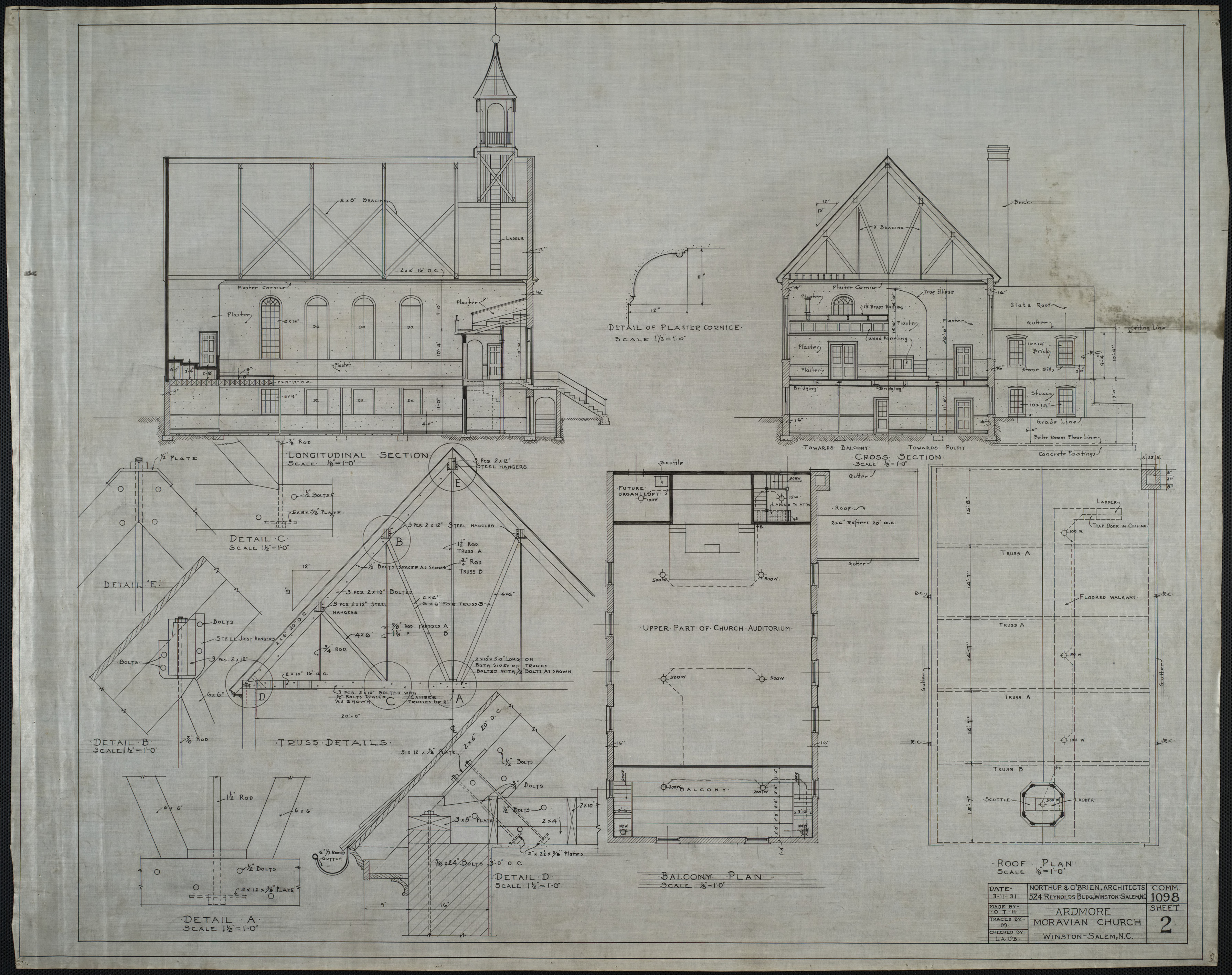 Longitudinal Section And Cross Section Section Cross Section