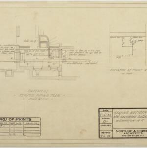 Basement piping plan