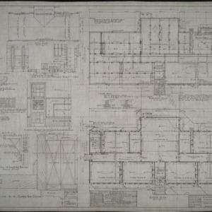 Basement plan, floor plan