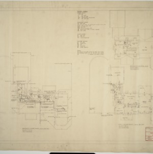 Electric and plumbing plans
