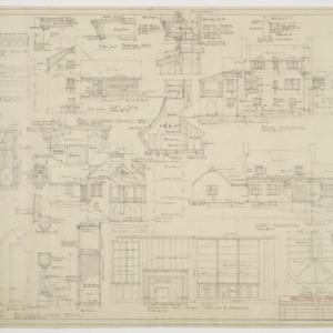 Elevations, various details