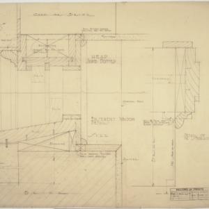 Details of basement doorframes