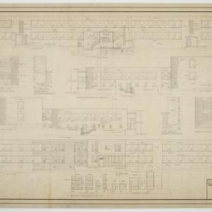 Elevations, entrance details, window schedule
