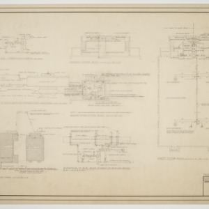 Plumbing plan, heating plans