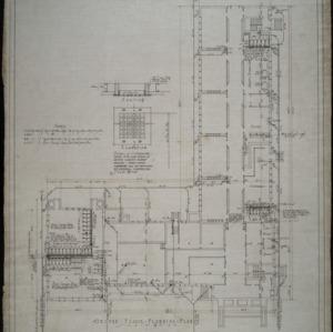 Ground floor plumbing plan