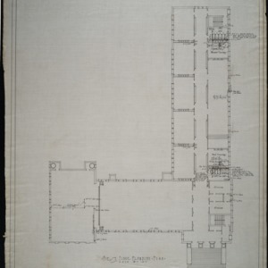 First floor plumbing plan