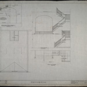 Roof plan, details