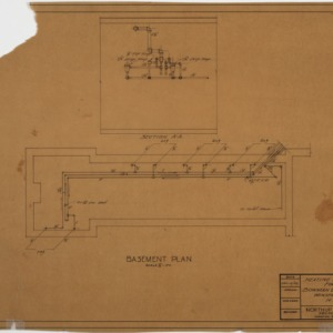 Heating Kennels basement plan