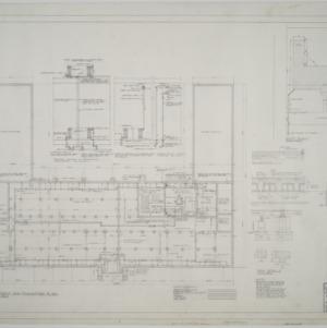 Basement and foundation plan, plot plan