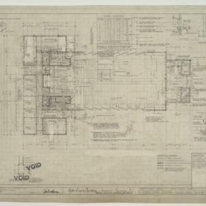 Chapel - State Hospital, Main Floor Plan