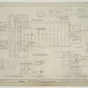 Chapel - State Hospital, Framing Plan, F.S. Trim