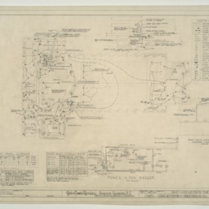 Chapel - State Hospital, First Floor Electrical Plan