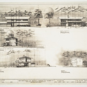 Dr. Phillips Residence, Elevations