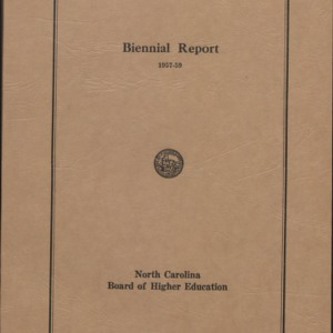 Board of Higher Education (K-40): Internal documents, minutes, reports, correspondence (1 of 3), 1960