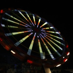 North Carolina State Fair 2010 at Night